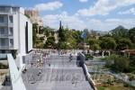 Blick auf Akropolis u. Lykavittos