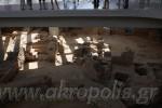 Ausgrabung vor dem Museum