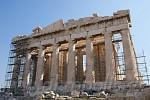 Parthenon, Westseite